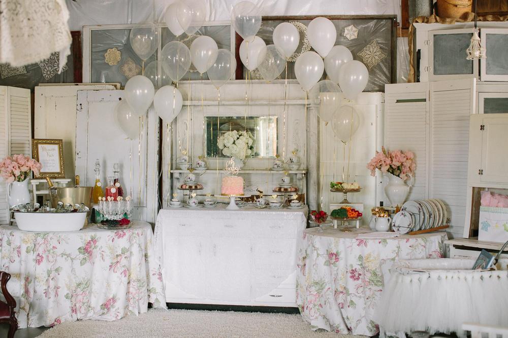Spring Vintage Baby GIRL Shower- Rentals, Event Coordination ...