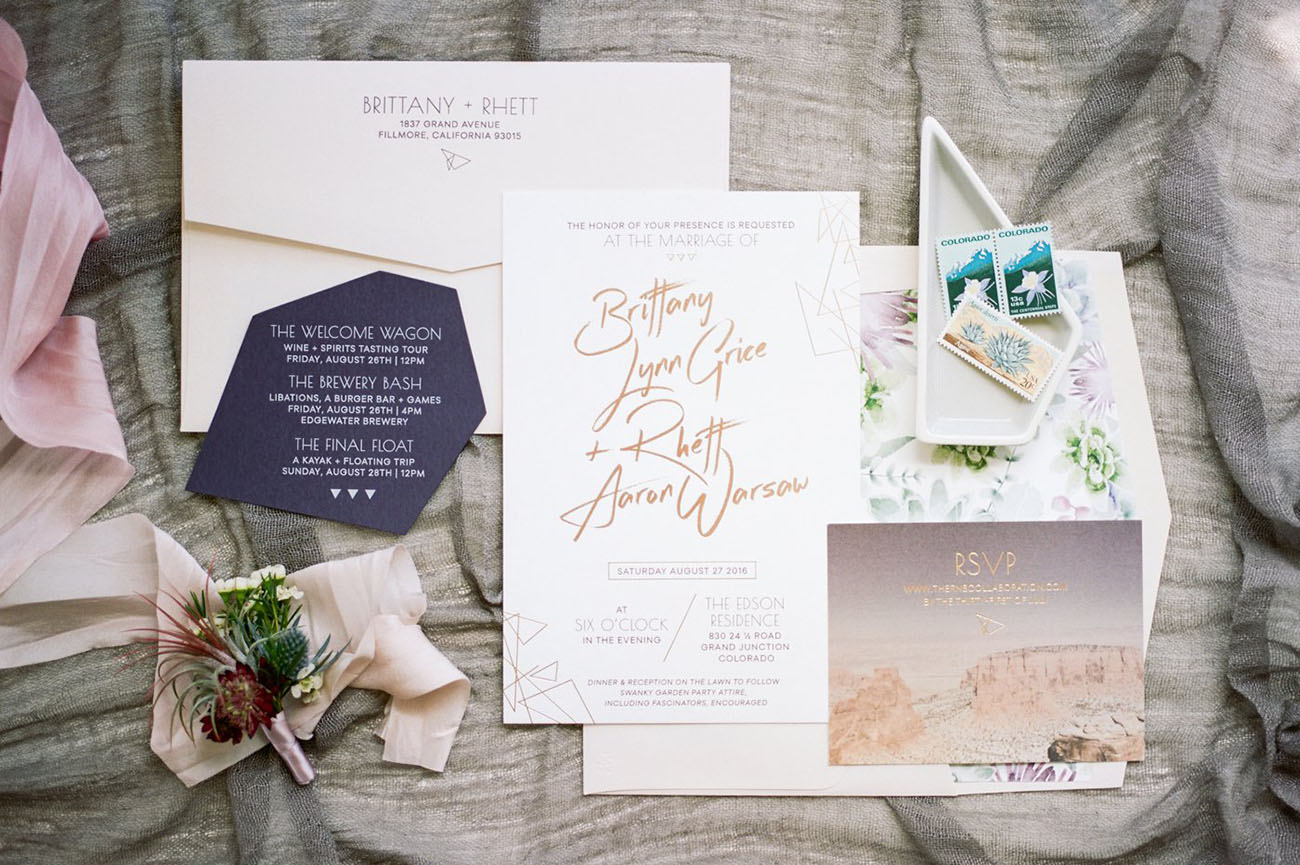 Invitation Suite by Prim & Pixie.